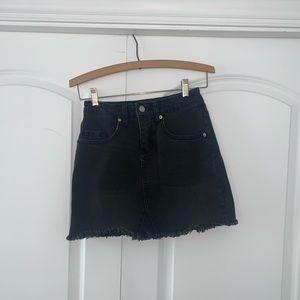 Wild Fable Black Mini Skirt